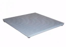CAS Corporation HFS Series 4x4 5000 x 1lb floor scale